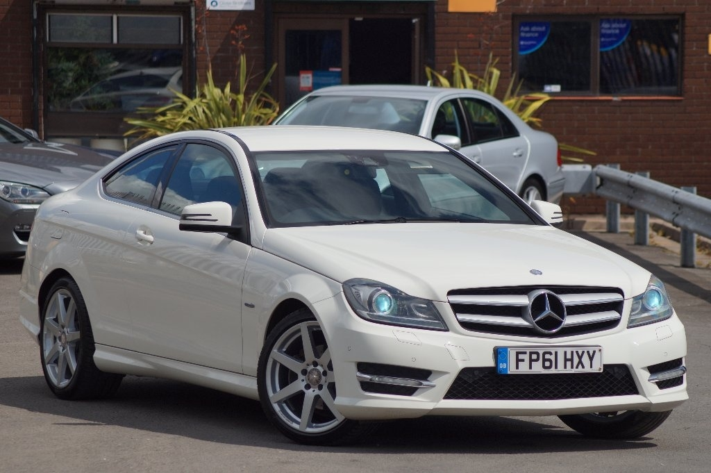 Mercedes-Benz C Class 2.1 C220 CDI BlueEFFICIENCY AMG Sport Edition 125 2dr