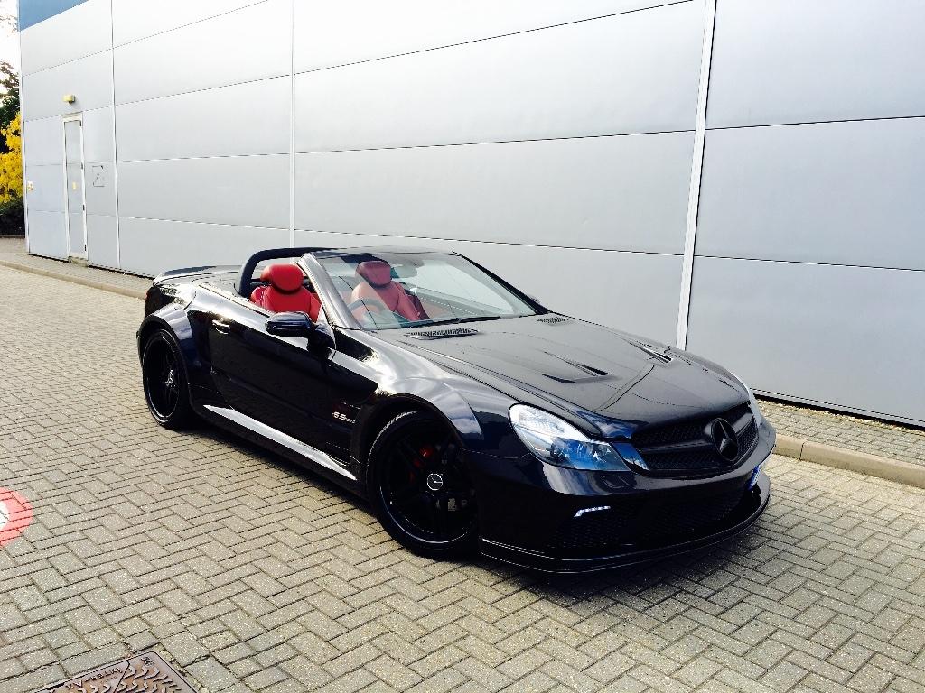 Mercedes-Benz SL Class 3.7 SL350 KIT BLACK SERIES RHD Conduite a Droite