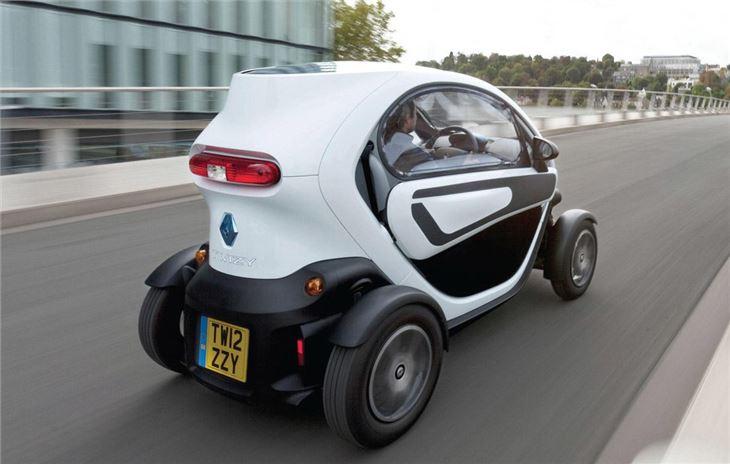 Renault Twizy 1 - La voiture la plus lente du monde Renault Twizi