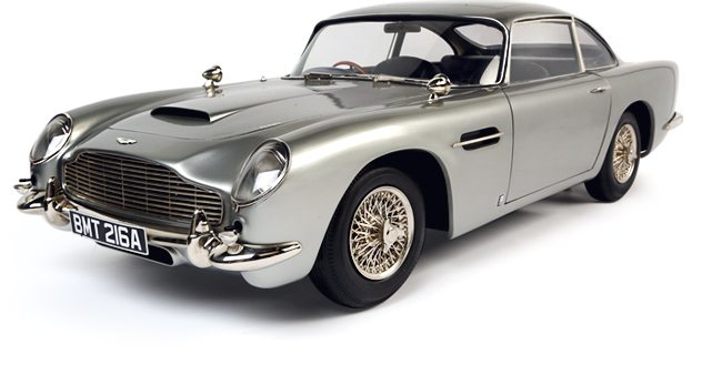 affiche Bond in Motion - La voiture de james bond, voiture angleterre en exposition video