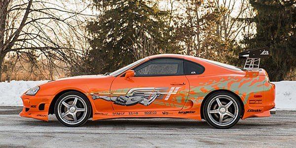 toyota supra 12019 1 P - La Toyota Supra de FF1 vendue 185 000 $