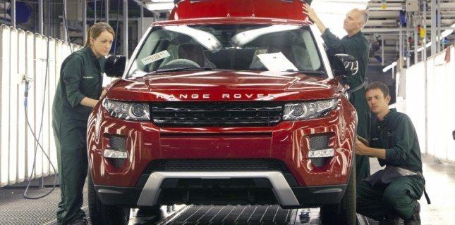 4213428 range rover evoque l usine tourne 24 heures sur 24 - L'automobile en angleterre que sont devenus les voitures au royaume uni