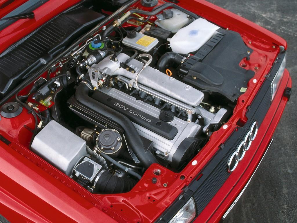 Audi Quattro Moteur 20v - UKAUTO le duel moteur Turbo ou moteur Atmosphérique?