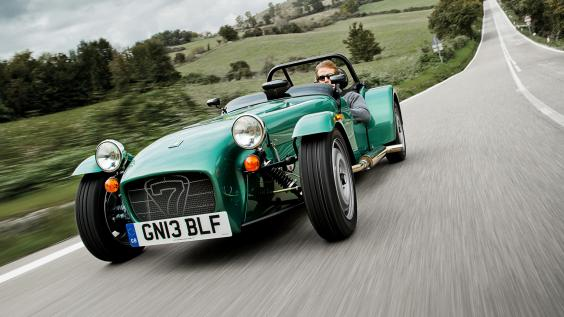buyers guide   caterham seven 2014   front - la voiture anglaise occasion