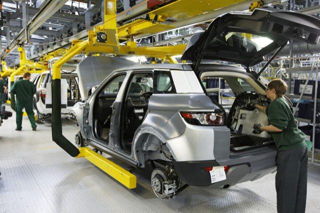 fig.a - l'industrie automobile au Royaume-Uni
