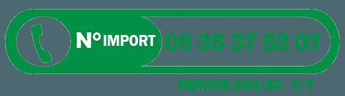 numero import2 - Paiement en Ligne sécuriser pour votre Importation de véhicule en France