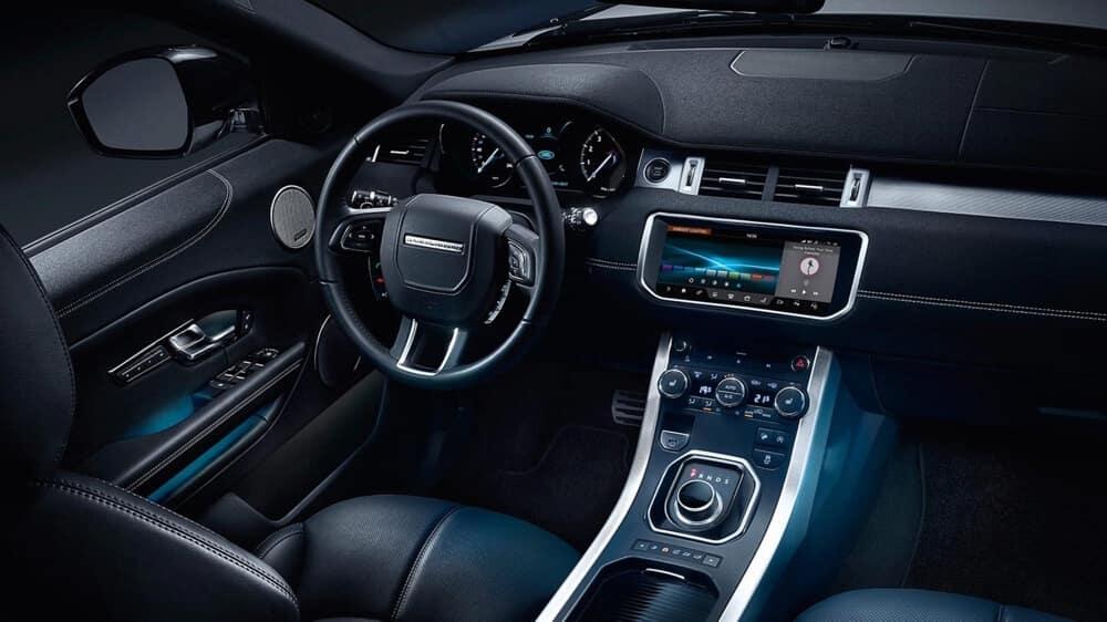 2018 Land Rover Range Rover Evoque Interior 02 - Nouvelle Range Rover Evoque une nouvelle voiture anglaise pour 2018