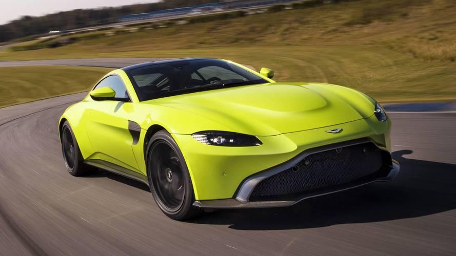 2018 aston martin vantage - Nouvelle voiture anglaise Aston Martin Vantage (2018)