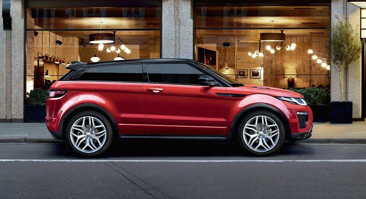 2018 land rover range rover evoque red pure premium  - Nouvelle Range Rover Evoque une nouvelle voiture anglaise pour 2018