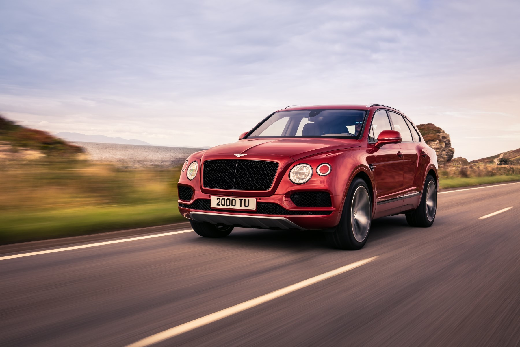 Nouvelle voiture d'angleterre la marque anglaise bentley Bentayga