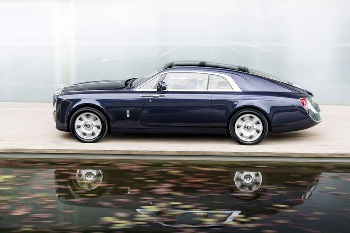 S1 rolls royce sweptail 403831 - la voiture neuve la plus chere du monde est une voiture anglaise video