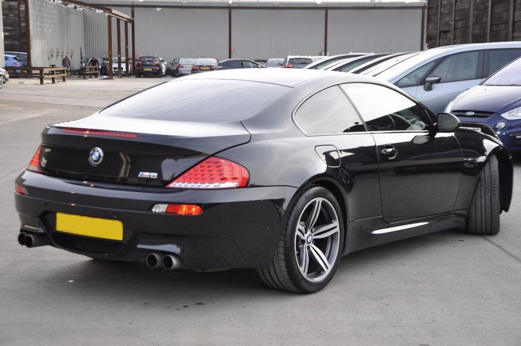 d4 2 - BMW M6 5.0 V10 SMG 2dr