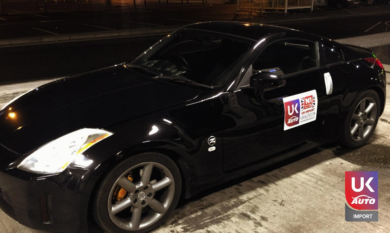 NISSAN1 - Nissan 350Z V6 RHD import auto par UKAUTO votre Mandataire automobile au royaume uni