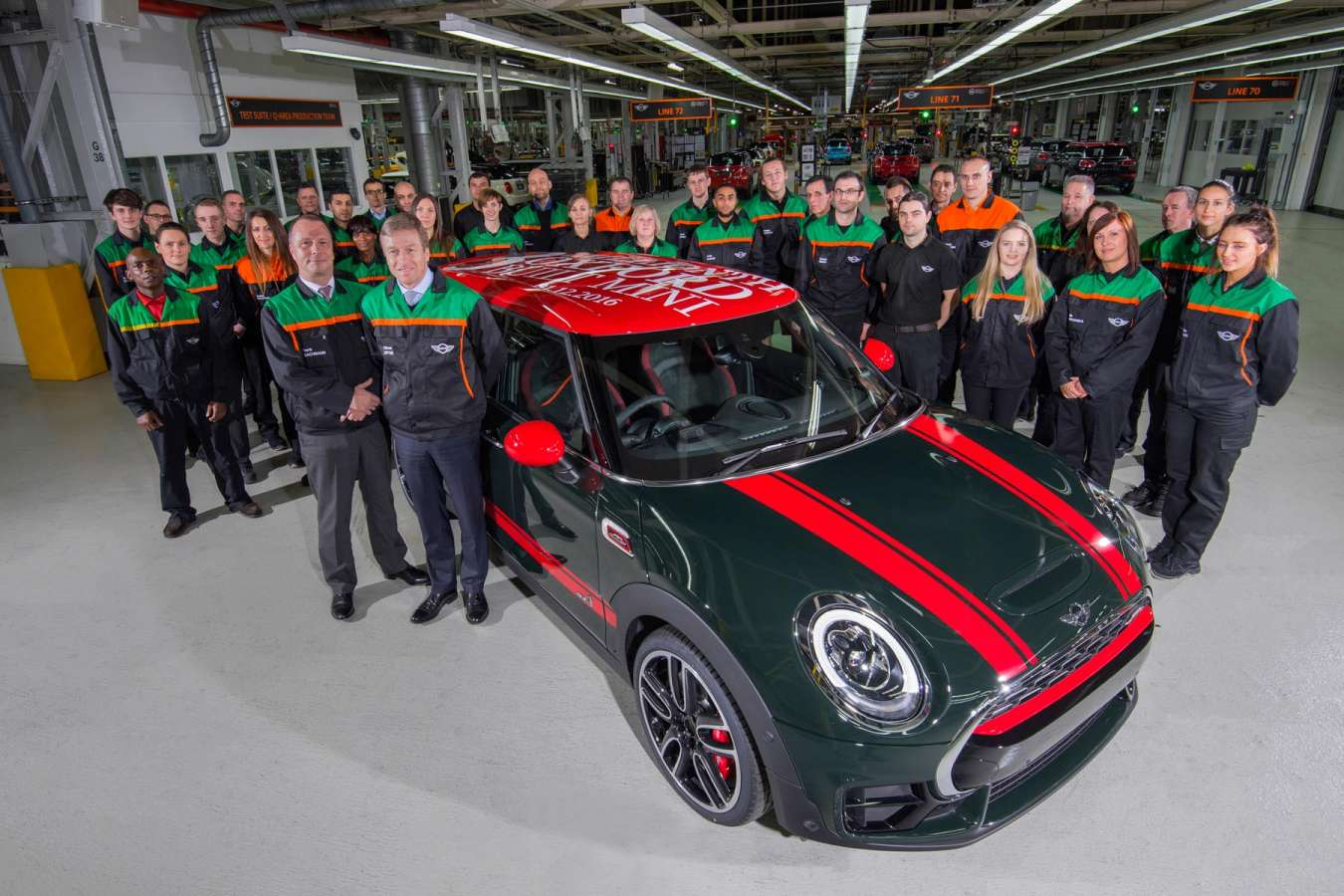 Voiture anglaise marque Mini rhd - Voiture anglaise marque Mini rhd : 3 millions de véhicules produits en import automobile