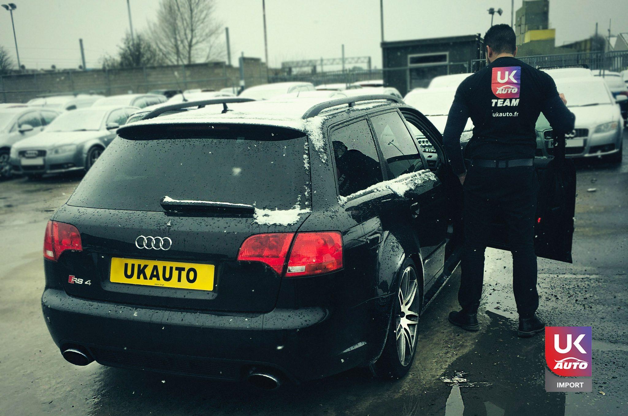 rs4 ukauto 1 - Felecitation a Notre client pour cette magnifique Audi RS4 RHD import auto par ukauto