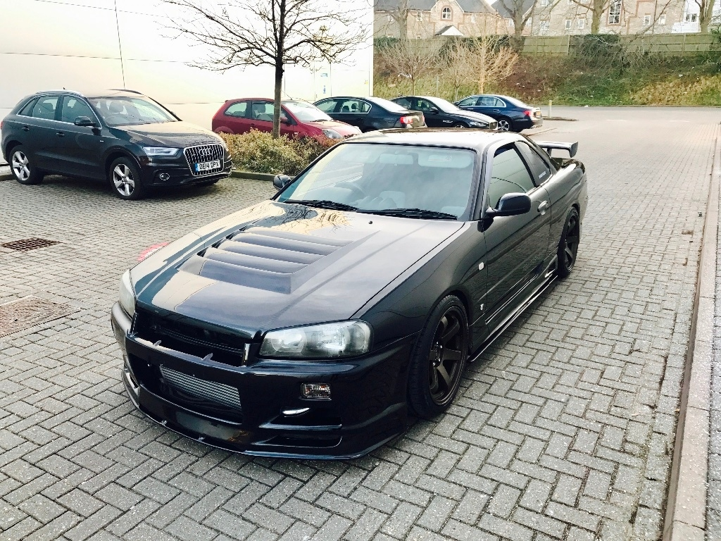 nissan skyline r34 2 5 gtt turbo 2dr ukauto achat auto angleterre import voiture d occasion. Black Bedroom Furniture Sets. Home Design Ideas