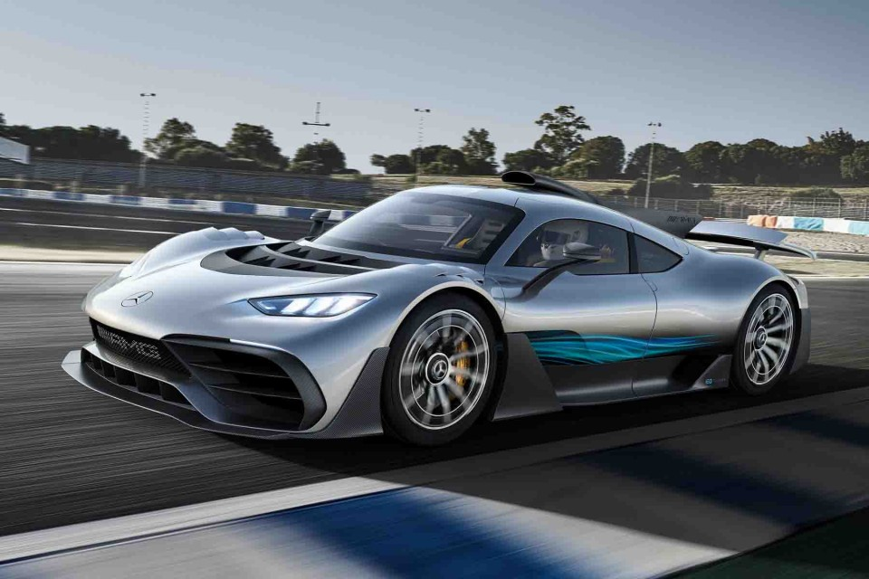 Lindustrie automobile au Royaume Uni lance AMG Project One1 - L'industrie automobile au Royaume-Uni lance AMG Project One construite automobile royaume uni