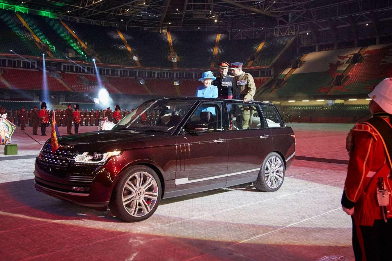 Range Rover cabriolet au royaume uni pour la Reine dAngleterre1 - Range Rover cabriolet au royaume-uni pour la Reine d'Angleterre