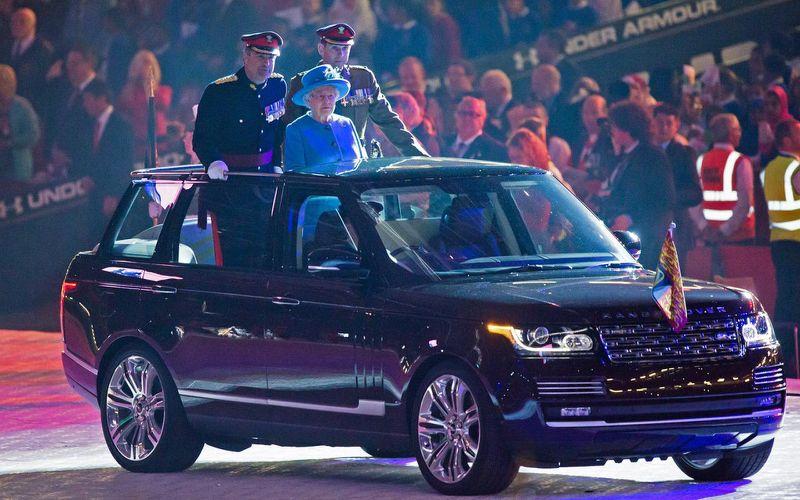 Range Rover cabriolet au royaume uni pour la Reine dAngleterre2 - Range Rover cabriolet au royaume-uni pour la Reine d'Angleterre
