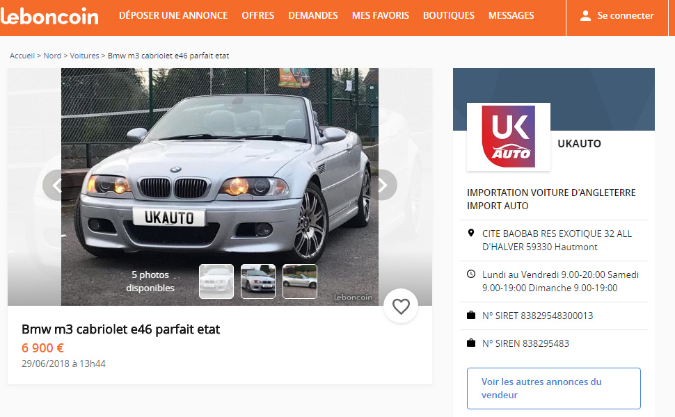 UKAUTO et leboncoin en partenariat pour les annonce voiture avec la boutique le boncoin3 - UKAUTO et leboncoin en partenariat pour les annonces voitures avec la boutique le boncoin sur le boncoin.fr