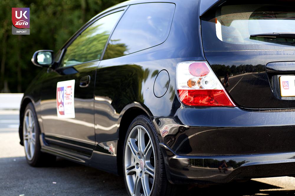 IMG 2067 - Felecitation a Notre client pour cette magnifique Honda Civic typeR EP3 par ukauto.fr import