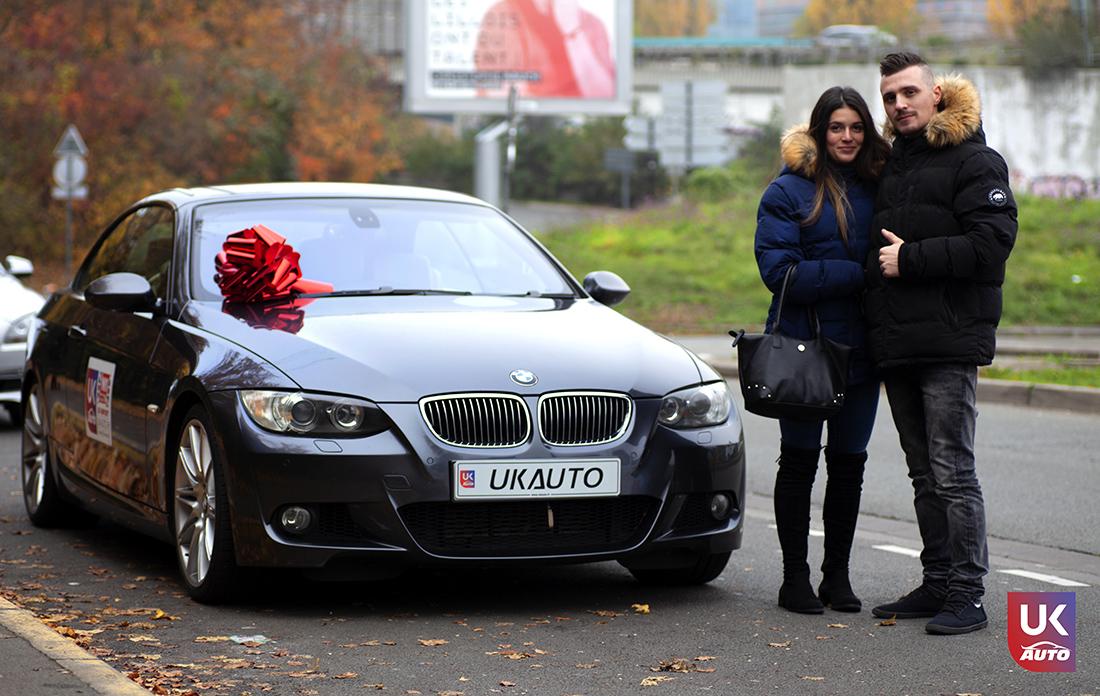 Import BMW 335I RHD PACK M PAR NOTRE CLIENT UKAUTO Félicitation a Christopher