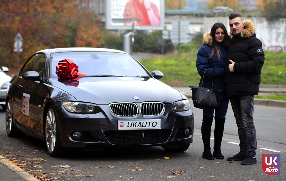 IMG 3014 - Import BMW 335I RHD PACK M PAR NOTRE CLIENT UKAUTO Félicitation a Christopher