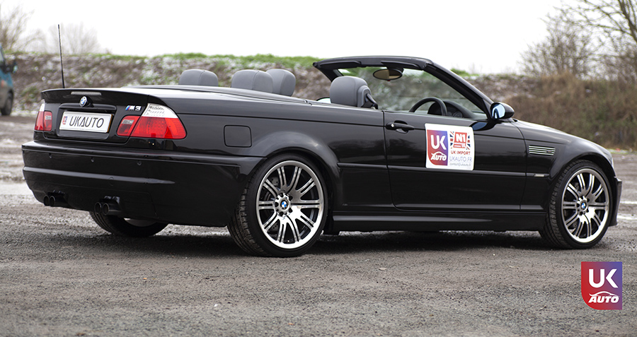 IMG 3020 - Import BMW M3 E46 CABRIOLET UK RHD NOTRE CLIENT UKAUTO.fr Félicitation à Cedric