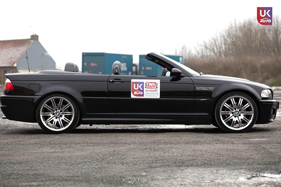 IMG 3022 - Import BMW M3 E46 CABRIOLET UK RHD NOTRE CLIENT UKAUTO.fr Félicitation à Cedric