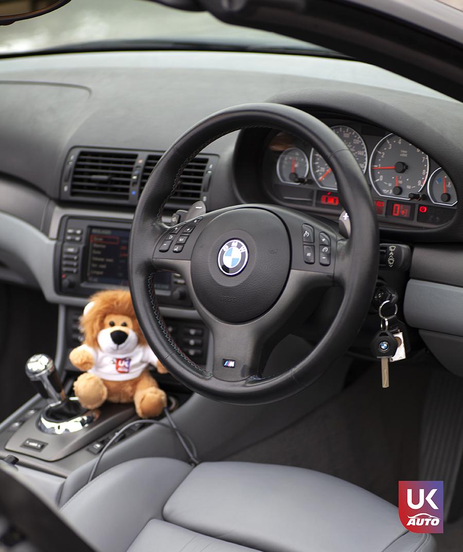IMG 3075 - Import BMW M3 E46 CABRIOLET UK RHD NOTRE CLIENT UKAUTO.fr Félicitation à Cedric