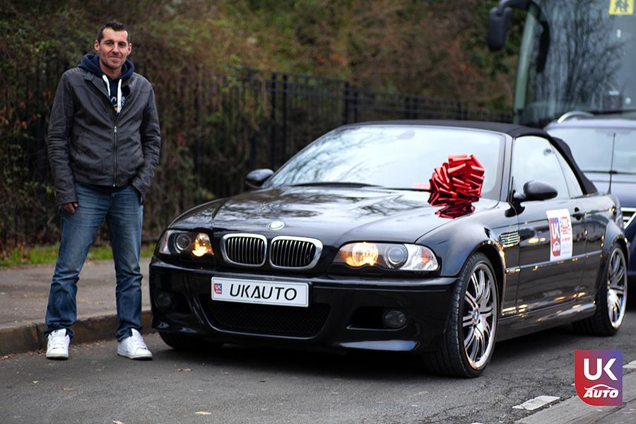 Import BMW M3 E46 CABRIOLET UK RHD NOTRE CLIENT UKAUTO.fr Félicitation à Cedric