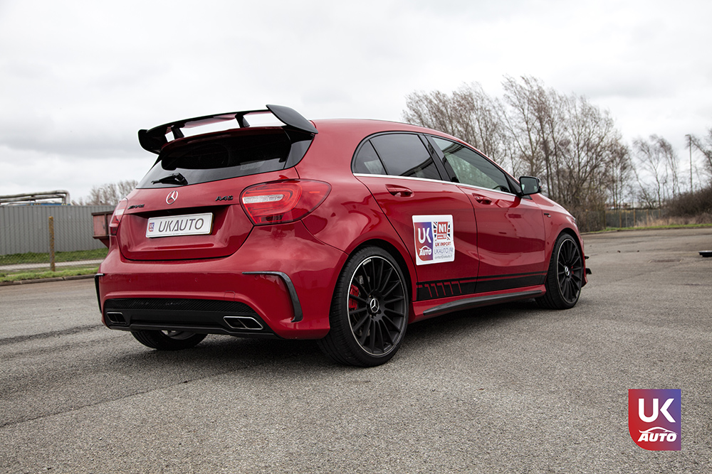 IMG 3600 - Import Mercedes A45 AMG EDITION 1 UK MERCEDES IMPORT PAR UKAUTO pour Steeven