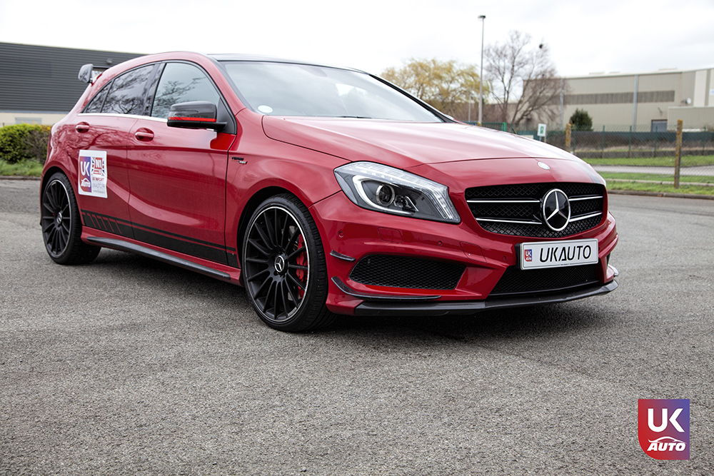 IMG 3605 - Import Mercedes A45 AMG EDITION 1 UK MERCEDES IMPORT PAR UKAUTO pour Steeven