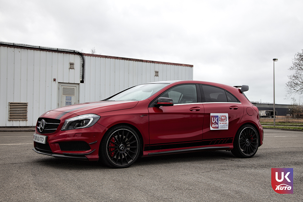 IMG 3620 - Import Mercedes A45 AMG EDITION 1 UK MERCEDES IMPORT PAR UKAUTO pour Steeven