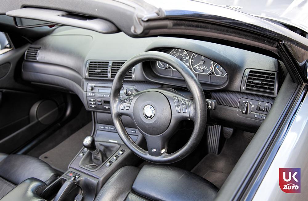 Import bmw uk ukauto rhd 330ci voiture anglaise 1 - Import UK BMW 330CI RHD E46 CABRIOLET pou Brian par votre mandataire en Angleterre UKAUTO