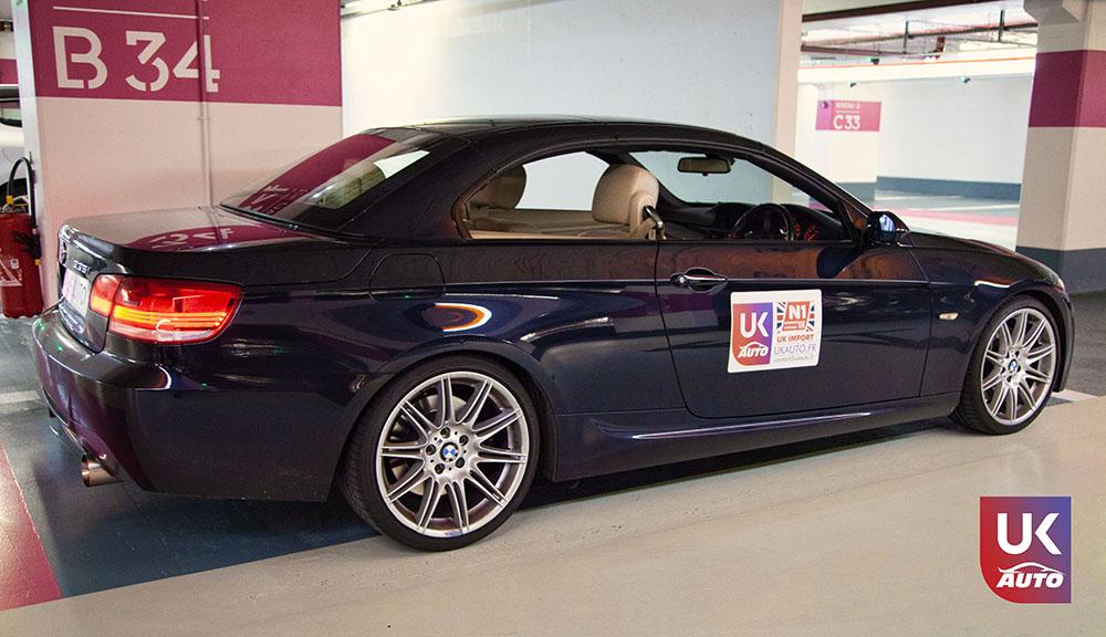 IMG 3781 - Import auto uk BMW 335i cabriolet par mandataire uk pour Cedric