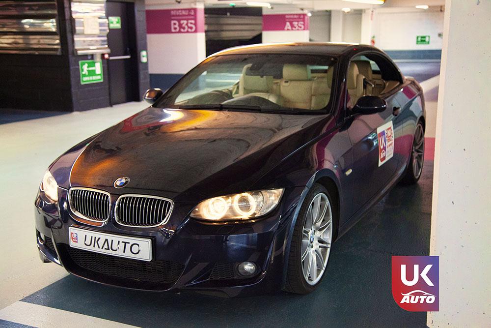 IMG 3788 - Import auto uk BMW 335i cabriolet par mandataire uk pour Cedric