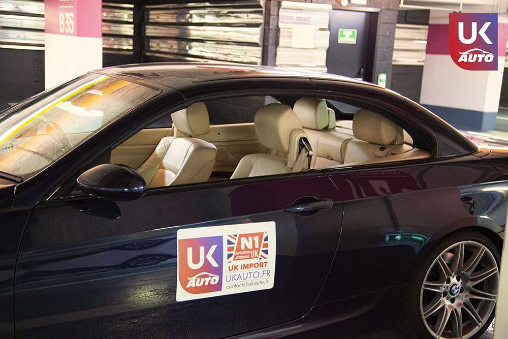 IMG 3790 - Import auto uk BMW 335i cabriolet par mandataire uk pour Cedric