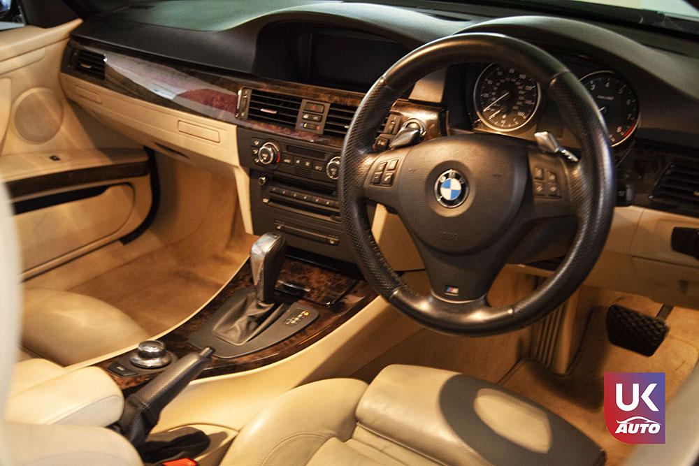 IMG 3808 - Import auto uk BMW 335i cabriolet par mandataire uk pour Cedric