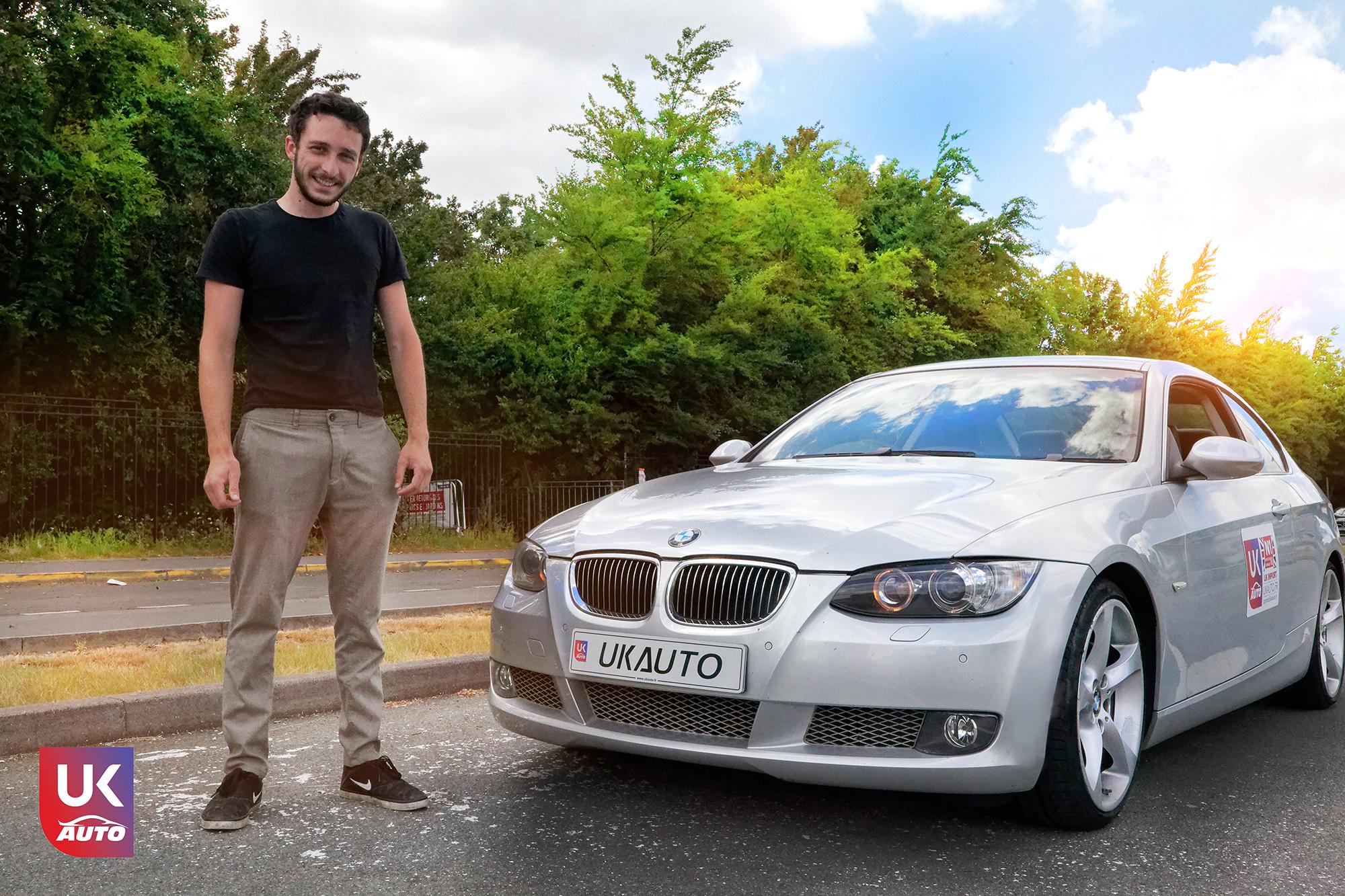 Bmw 335i rhd import uk bmw occasion bmw mandataire e92 rhd coupe uk auto uk ukauto13 - Felecitation a Julien pour cette BMW 335i E92 COUPE RHD importateur voitures anglaises