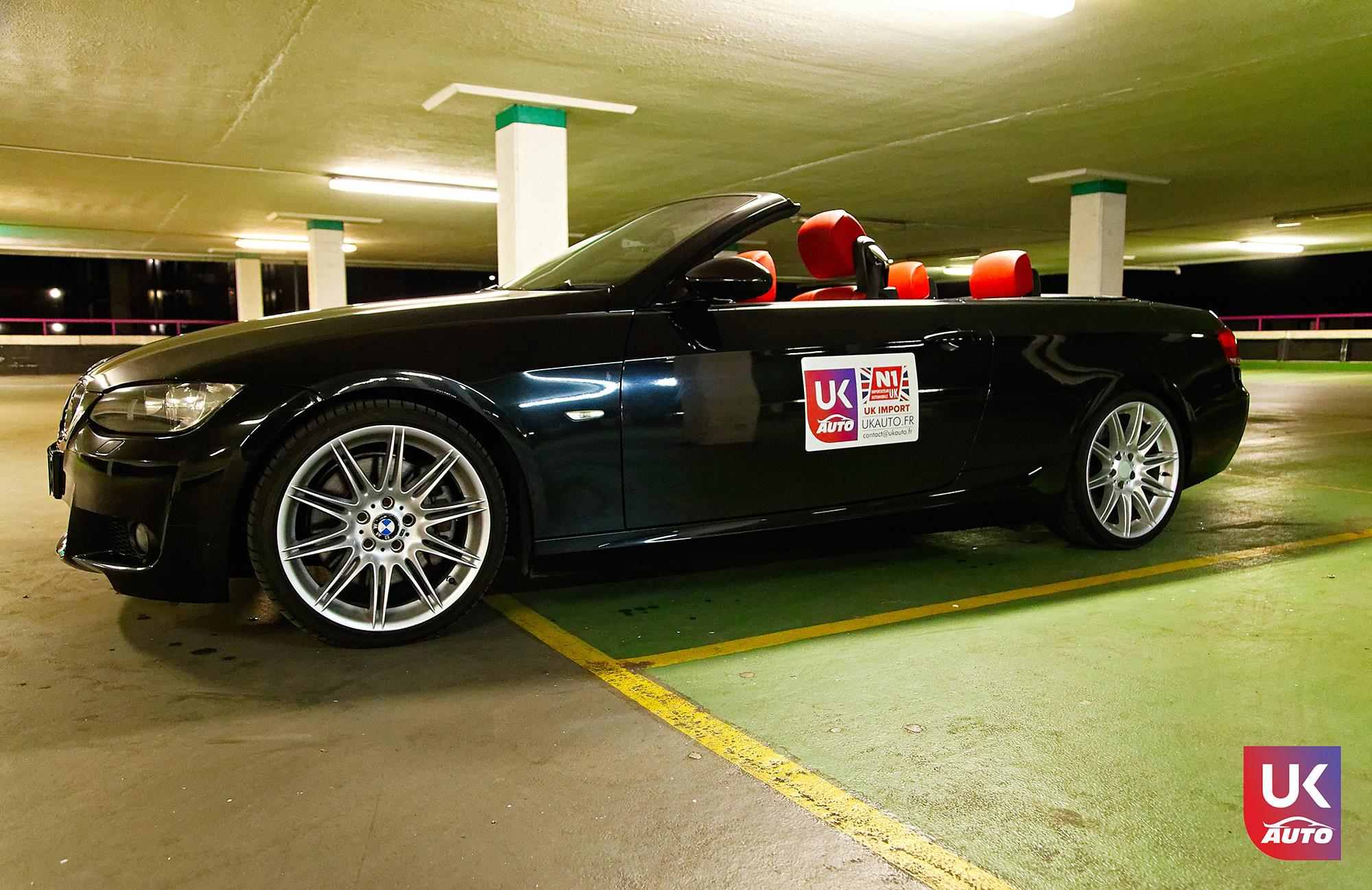 UKAUTO IMPORT ANGLETERRE BMW 335i CABRIOLET UKA RHD11 - Felecitation a Jeremie pour cette BMW 335i cabriolet RHD PACK M IMPORT AUTO ANGLAISE