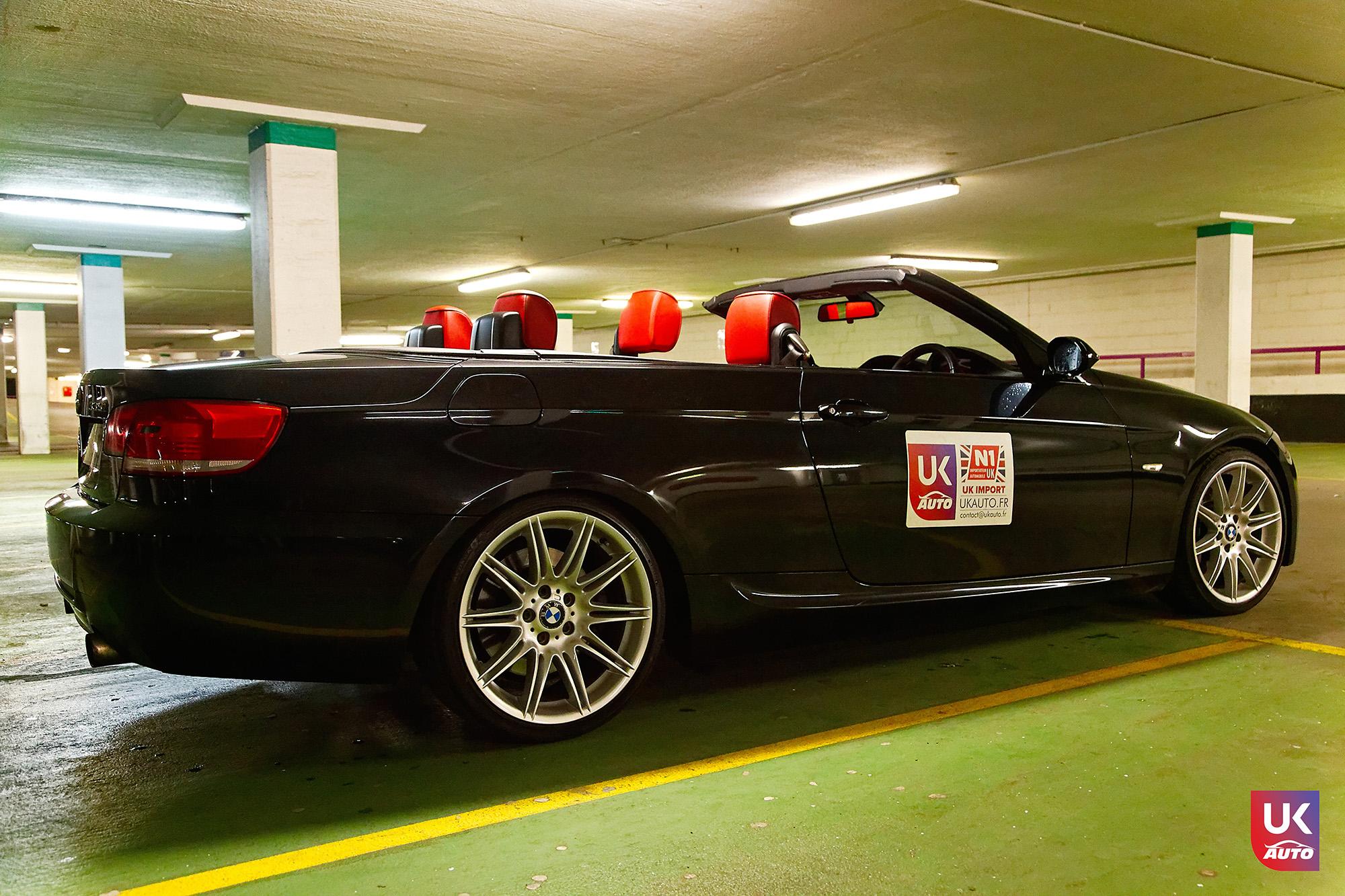 UKAUTO IMPORT ANGLETERRE BMW 335i CABRIOLET UKA RHD19 - Felecitation a Jeremie pour cette BMW 335i cabriolet RHD PACK M IMPORT AUTO ANGLAISE