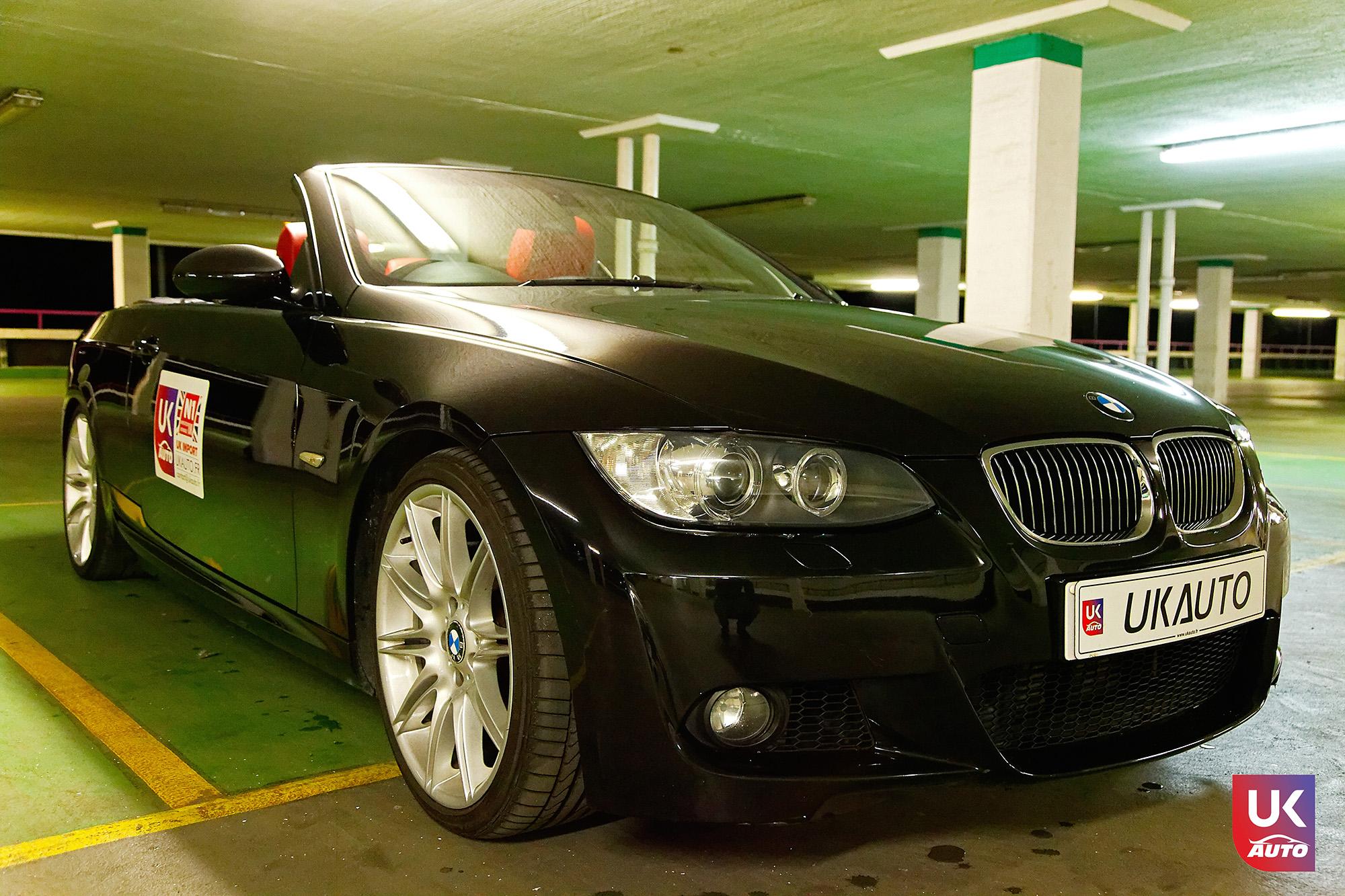 UKAUTO IMPORT ANGLETERRE BMW 335i CABRIOLET UKA RHD2 - Felecitation a Jeremie pour cette BMW 335i cabriolet RHD PACK M IMPORT AUTO ANGLAISE