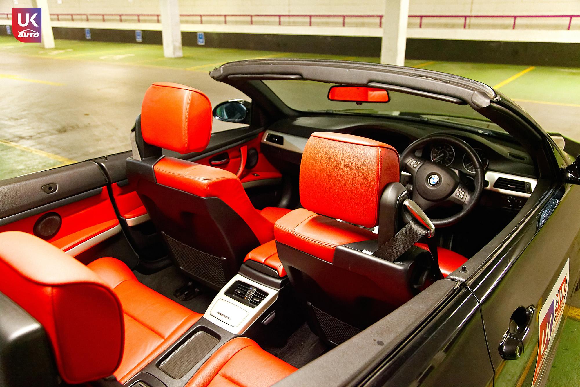 UKAUTO IMPORT ANGLETERRE BMW 335i CABRIOLET UKA RHD22 - Felecitation a Jeremie pour cette BMW 335i cabriolet RHD PACK M IMPORT AUTO ANGLAISE