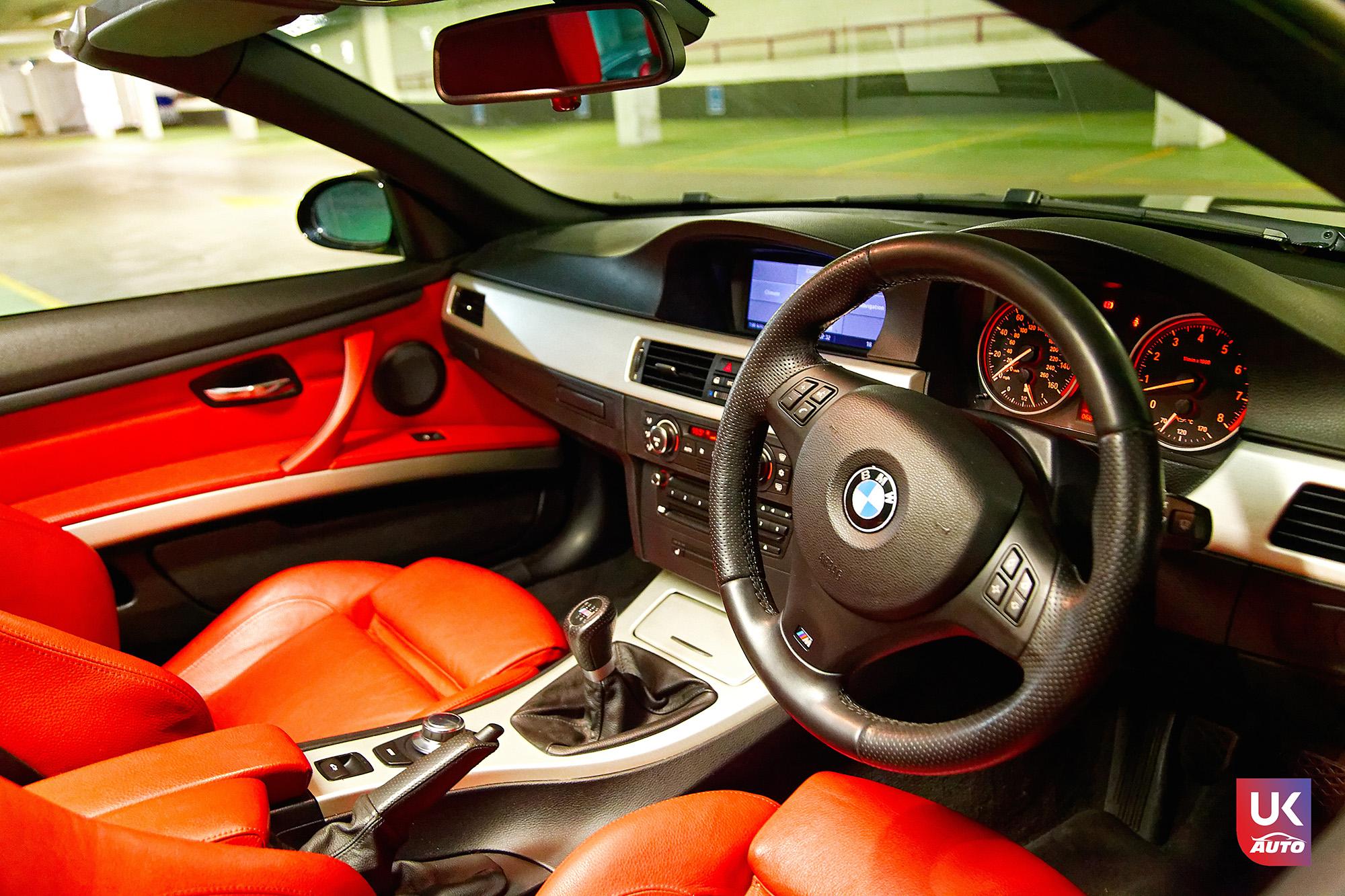 UKAUTO IMPORT ANGLETERRE BMW 335i CABRIOLET UKA RHD41 - Felecitation a Jeremie pour cette BMW 335i cabriolet RHD PACK M IMPORT AUTO ANGLAISE