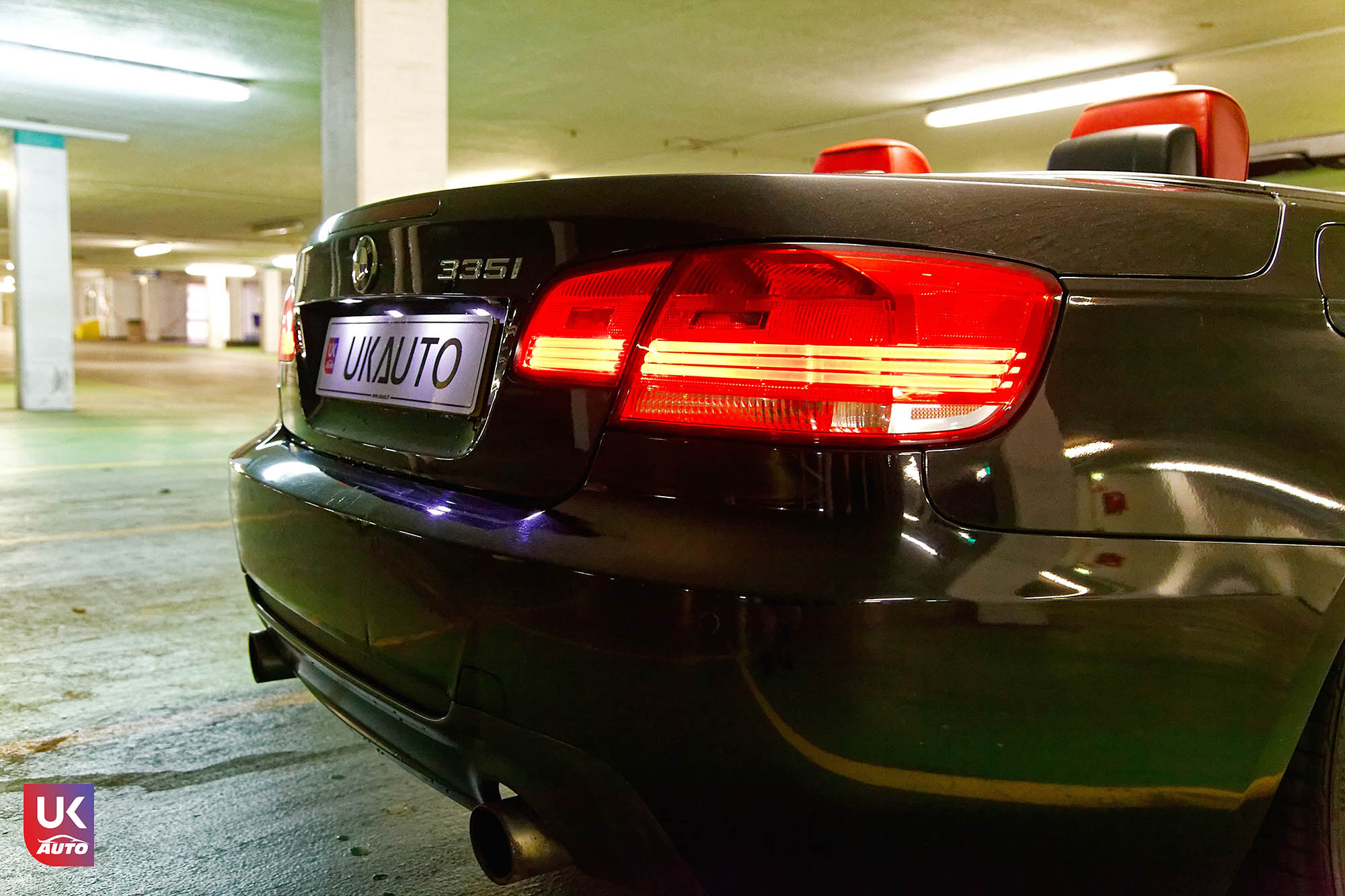 UKAUTO IMPORT ANGLETERRE BMW 335i CABRIOLET UKA RHD49 - Felecitation a Jeremie pour cette BMW 335i cabriolet RHD PACK M IMPORT AUTO ANGLAISE