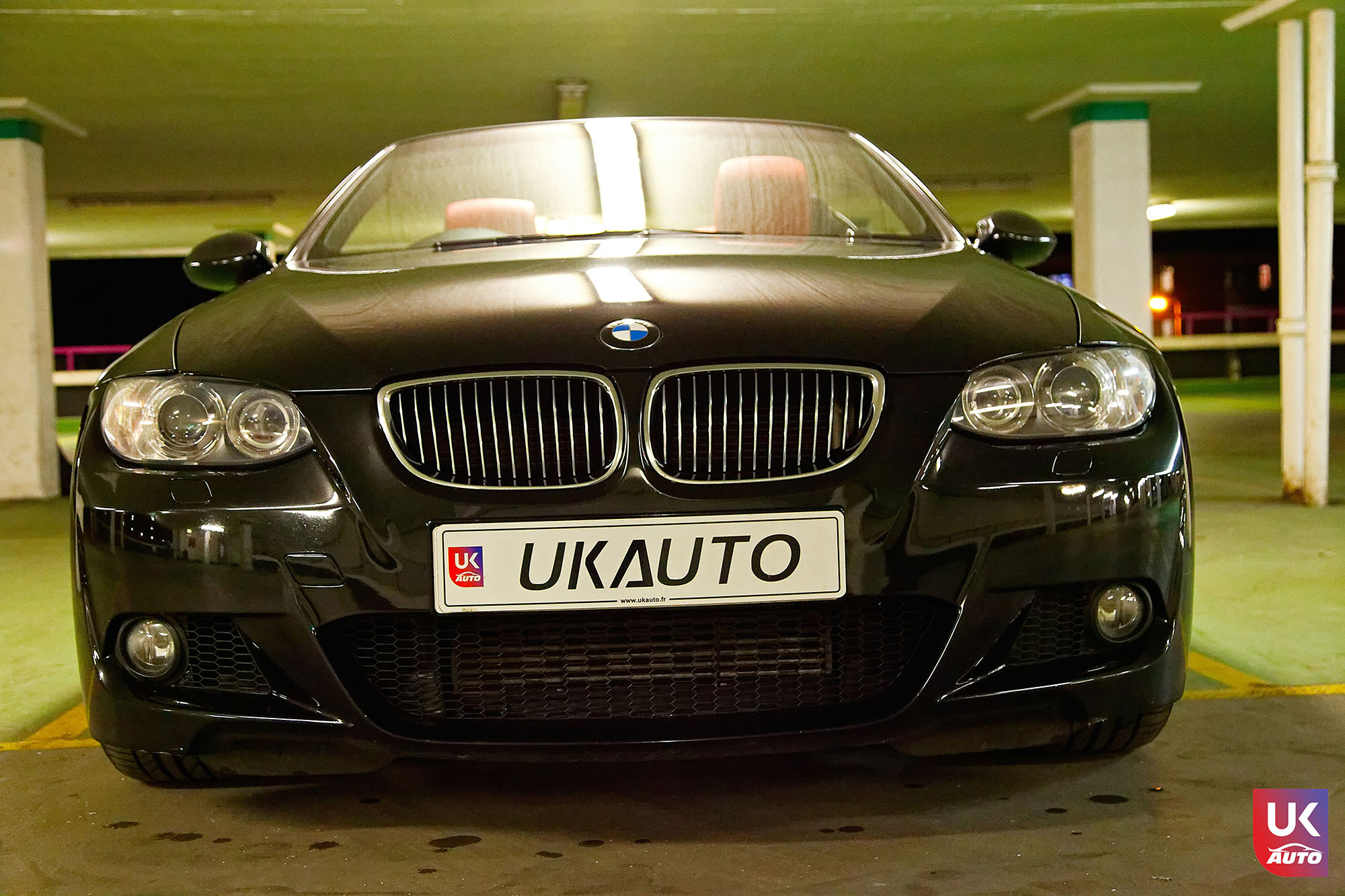 UKAUTO IMPORT ANGLETERRE BMW 335i CABRIOLET UKA RHD5 - Felecitation a Jeremie pour cette BMW 335i cabriolet RHD PACK M IMPORT AUTO ANGLAISE