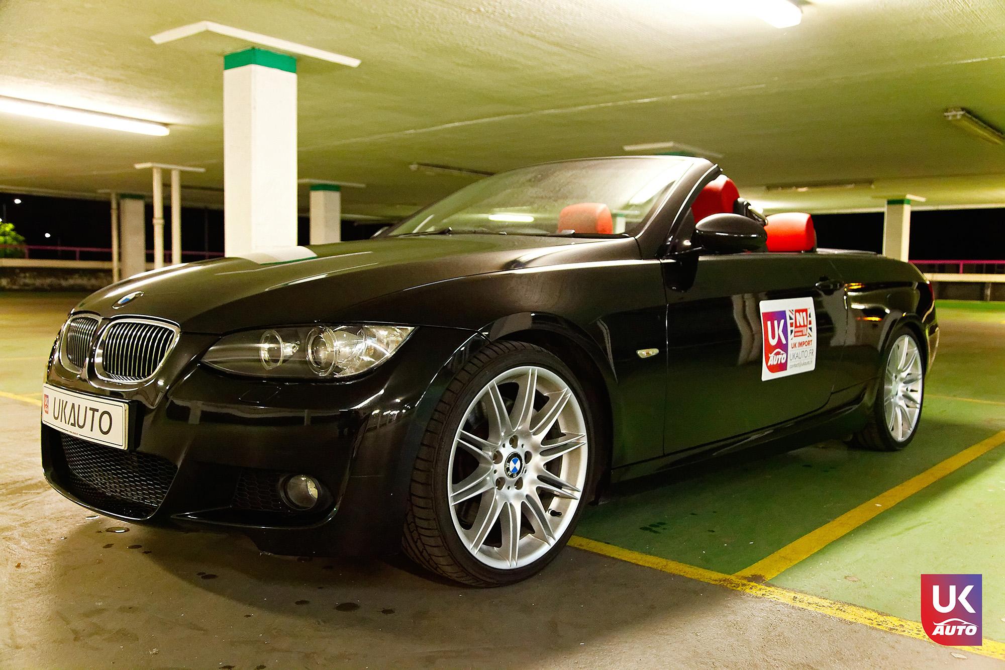 UKAUTO IMPORT ANGLETERRE BMW 335i CABRIOLET UKA RHD9 - Felecitation a Jeremie pour cette BMW 335i cabriolet RHD PACK M IMPORT AUTO ANGLAISE