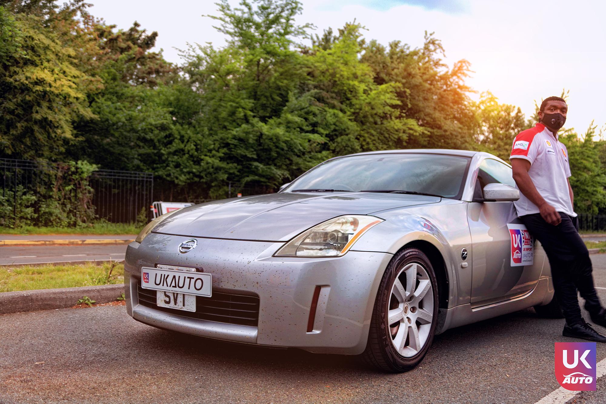 Ukauto import nissan 350z jdm import fairlady v6 import uk ukauto rhd nissan import uk15 - Import Nissan 350Z JDM IMPORT 3.5 V6 TIPTRONIC IMPORT AUTO par UKAUTO