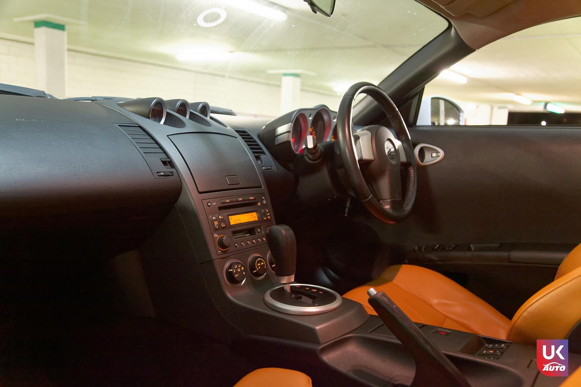 Ukauto import nissan 350z jdm import fairlady v6 import uk ukauto rhd nissan import uk6 - Import Nissan 350Z JDM IMPORT 3.5 V6 TIPTRONIC IMPORT AUTO par UKAUTO